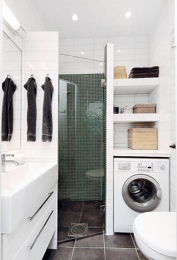дизайн ванной комнаты фото со стиральной машиной